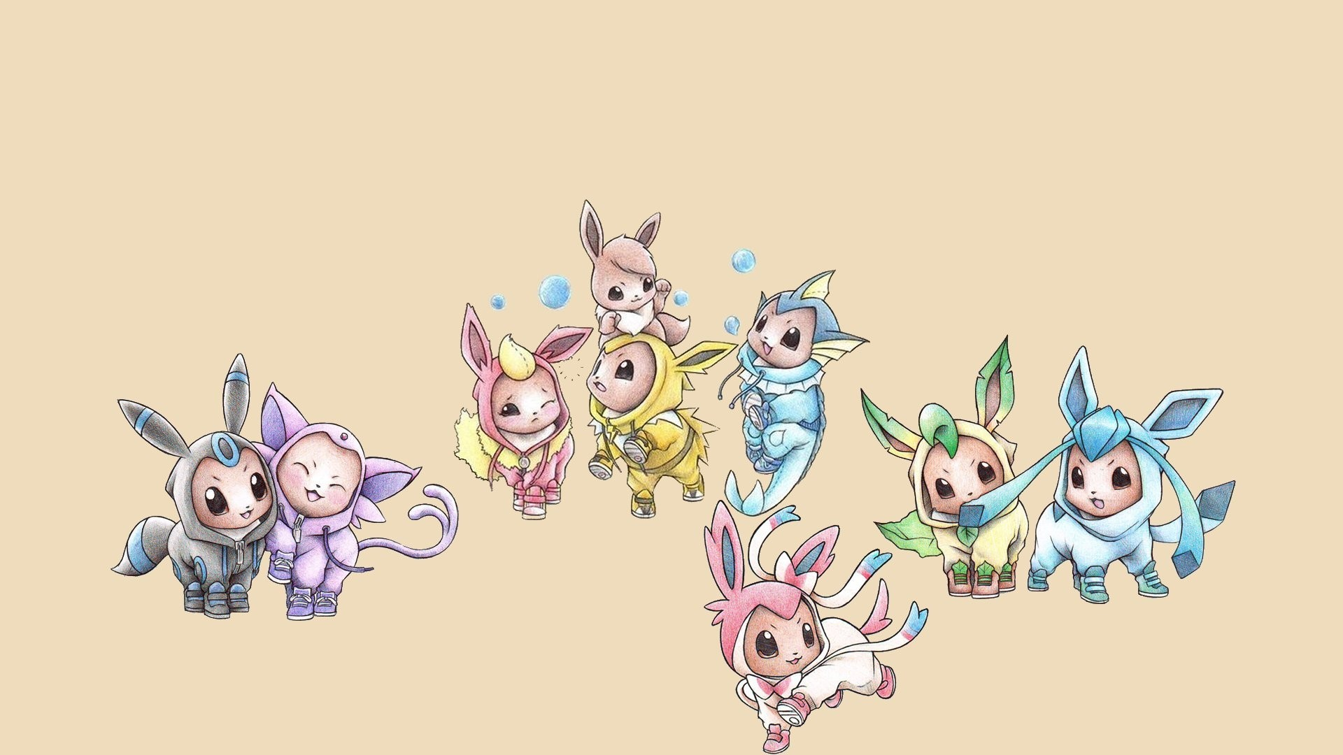 eeveelutions wallpaper - photo #14